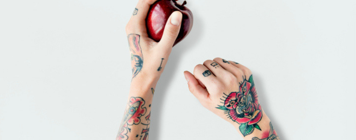 healthy eating tattoo removal
